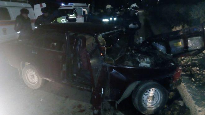 Вжутком ночном ДТП вОрле пострадали 3 человека