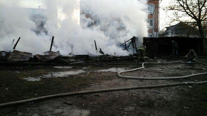 пожар карачевская